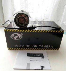 Цветная камера наружная с ик подсветкой