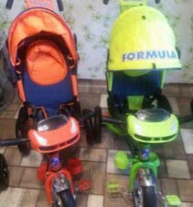 Новые велосипеды Формула 3.