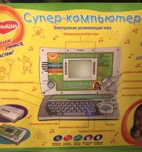 Детский обучающий компьютер на возраст 3/7 лет