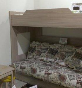 2-ярусная кровать-диван