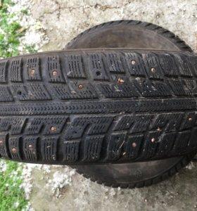 Зимние шины 2 колеса