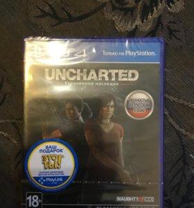 Игра для PS4 uncharted Утраченное Наследие(новая)