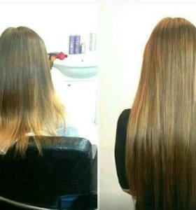 Волосы для наращивания, 55 см