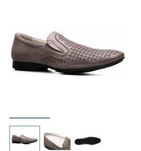 Туфли мужские натуральная кожа 39-40 размер