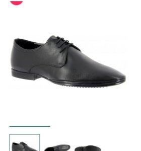 Туфли мужские натуральная кожа 40-41 размер