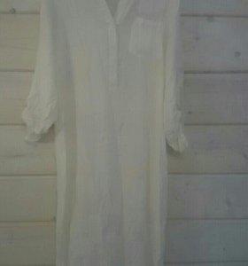 Пляжное платье новое 200 руб, 44 46 размер