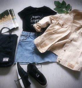 Куртка джинсовая в стиле oversize. Германия.