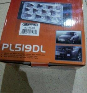 Фары противотуманные DLAA PL-519DL W, для ВАЗ 2110