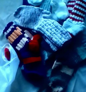 Вязаные носки срочно