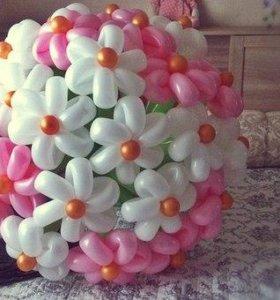 Букеты из шариков