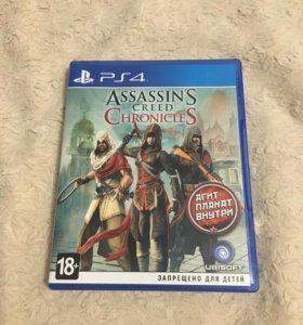 Assassins creed Chronicles ps 4+плакат
