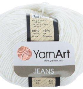 Пряжа  для вязания, Ярнарт Джинс