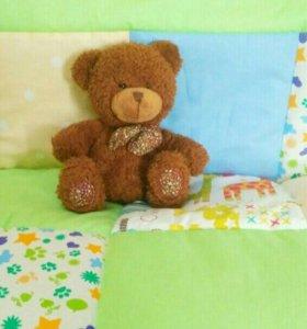 Стеганое лоскутное одеялко