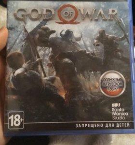 God Of War 2018 PS4 Новый