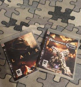 2 игры на Playstation 3