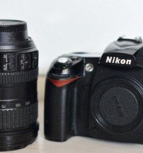 Nikon d90 + Nikon 18-200mm f/3.5-5.6G IF-ED AF-S V