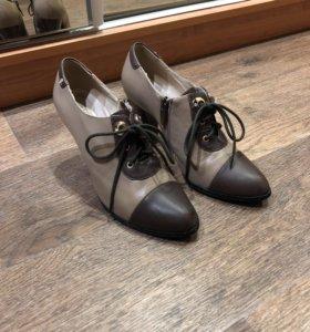 Туфли из натуральной кожи 38 размер