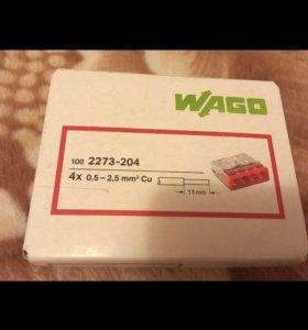 Клеммники WAGO 2273-204