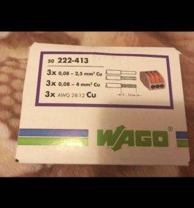 Клеммники WAGO 222-413
