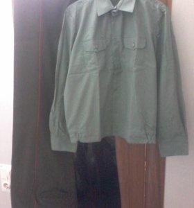 военные рубашки, брюки