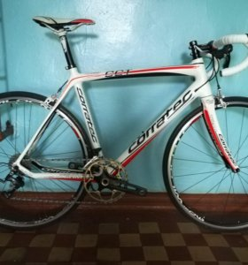 Карбоновый шоссейный велосипед Corratec CCT team