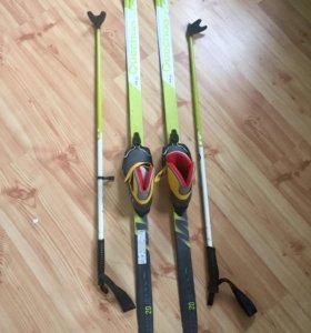Лыжи детские беговые (комплект)