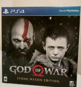 God of war stone mason edition эксклюзив