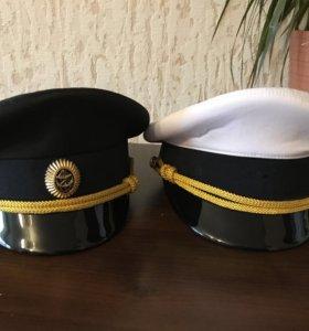 Военные офисные фуражки новые