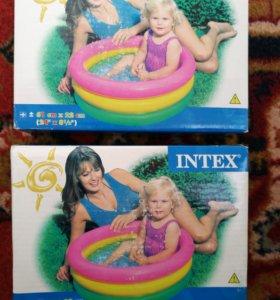 Новый бассейн для малыша