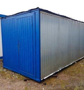 Бу блок-контейнер (вагончик, бытовка) 6х2,4