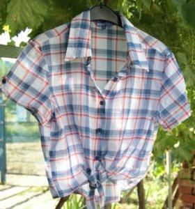 Рубашка-топ женская