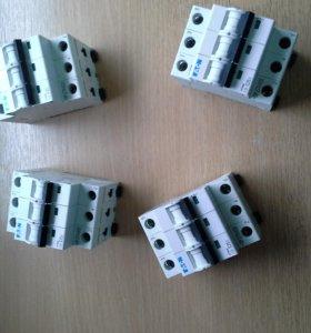 Автоматические выключатели 3-х фазные