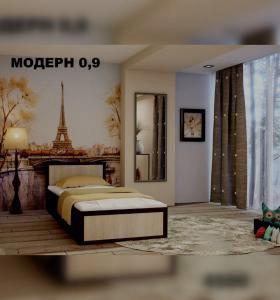 кровать модерн 0.9м