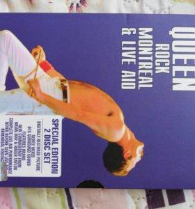 Queen rock Montreal & live AID 2DVD