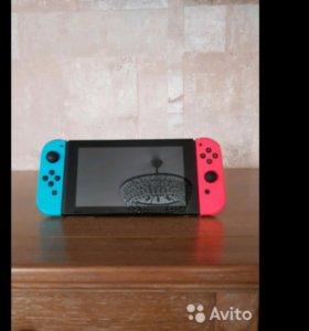 Nintendo switch +1 игра Zelda. Есть торг