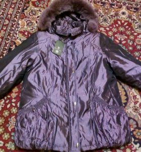 Куртка зимняя новая52-54
