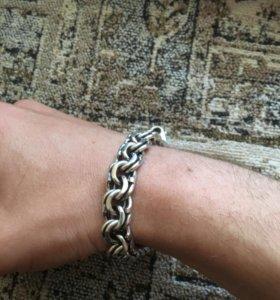 Продам браслет, серебро 925пробы. 20 размер.