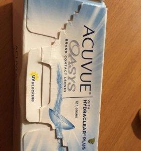 Линзы контактные -2.25 Acuvue Oasys 2-недельные