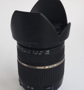 Tamron 28-75mm f/2.8 nikon