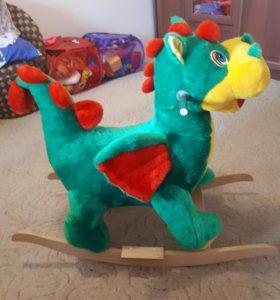 Детская качалка дракон