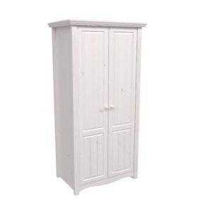 шкаф 2-х дверный милано массив
