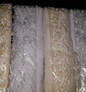 Кружева для декора или шитья