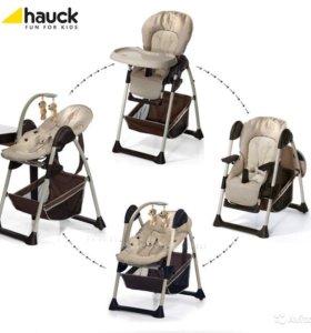 Стульчик и шезлонг Hauck Bear 2 кресла. + сандалии