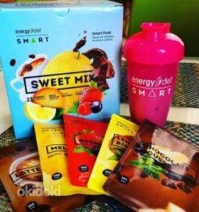 Похудение на коктейли Energy Diet SMart