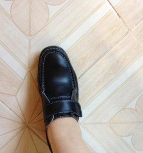 Кожаные туфли. Новые.