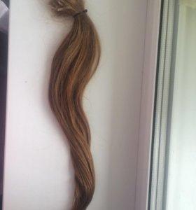 Волосы для наращивания натуральные
