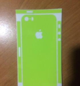 Пленка айфон 5
