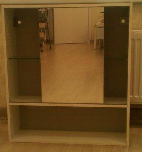 Шкаф зеркальный для ванной комнаты