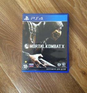 Игра на PS4 Mortal Kombat X