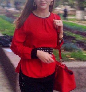 Блузка Zara и ремень Zara бонус к ней